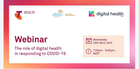 Webinar – The role of digital health in responding to COVID-19